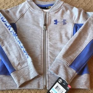 💫SOLD💫 Under Armour Zip up sweater